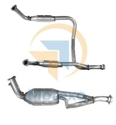 Range Rover P38 4.0 4.6 96-99 Exhaust Twin Front Pipe With Catalytic Converter