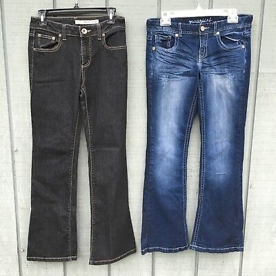 Womens lot of 2 DKNY & Maurice's jeans size 5 Or 6 short EUC 30 Inch Inseam