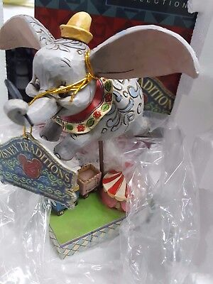 Jim Shore Disney Dumbo Elephant Faith in Flight Figurine Enesco In Box #4010028