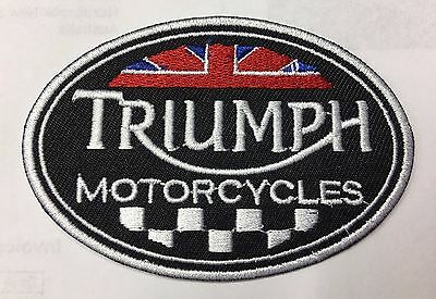 Triumph Motorcycles Iron On / Sew On Badge