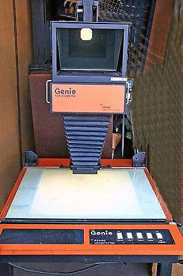 Copy Stand with Lights & 8x10 Camera - Shooting Table - Overhead Transparency