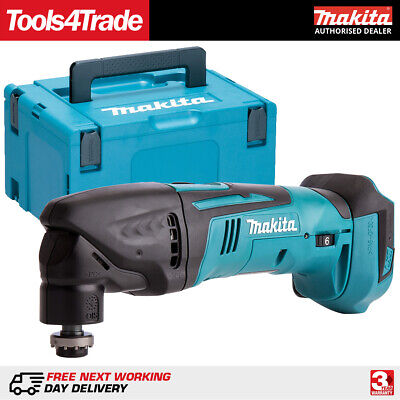 Makita DTM50Z 18V LXT Lithium Cordless MultiTool Multi Tool Body + Makpac Case