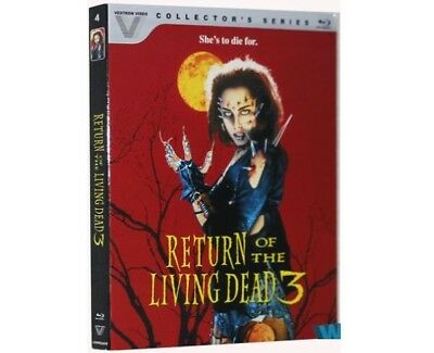 Return Of The Living Dead 3 [Blu-ray] 2016 BRAND NEW SEALED