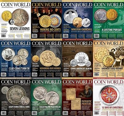 2015 - Full Collection of COIN WORLD MAGAZINE - PDF Digital Format - 52 Issues