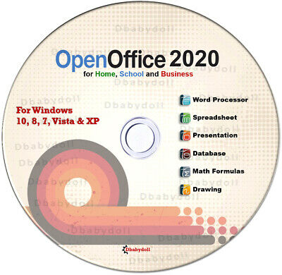 Open Office Suite 2018 Professional for Microsoft Windows for Home and Student