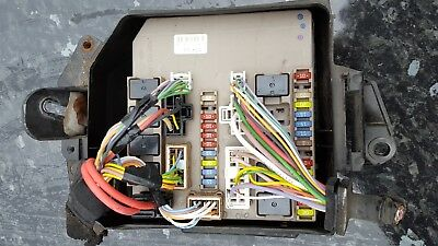 renault clio mk3 fuse box 674 660a picclick uk. Black Bedroom Furniture Sets. Home Design Ideas