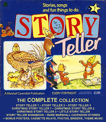 Story Teller Marshall Cavendish Complete Collection MP3 Audio/PDF Version 4 DVD