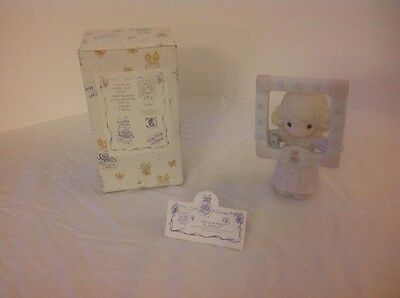 """Precious Moments Figurine """"Youre As Pretty As A Picture"""" #C0016 In Box 1996"""
