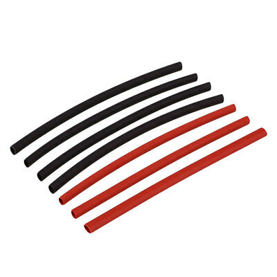 42Pcs H-type Heat Shrink Tube Wire Cable Tubing Sleeving Wrap Black Red