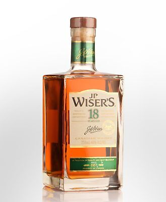 J.P. Wiser's 18 Year Old Blended Canadian Whisky (750ml)