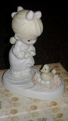 """Precious Moments Figurine""""An Event Worth Wading For""""Special Limited Edition-1800"""