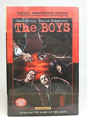 The Boys Vol. 1: The Name of the Game Ltd Ed Hardcover
