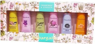 Crabtree & Evelyn Ultra Moisturising Hand Therapy Hand Cream Collection 6 x 25g