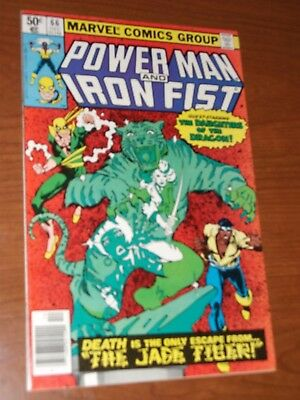 POWER MAN IRON FIST # 66 VF+/ NM 2nd app of Sabertooth - Luke Cage App.