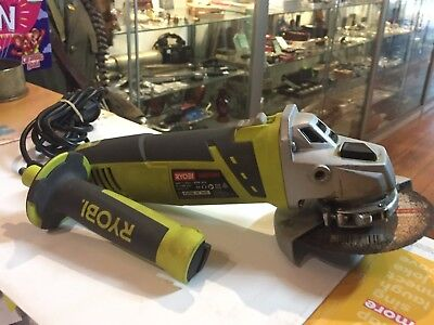 Ryobi (Eag95125Rg)  950W / 125 Mm Angle Grinder / Aussie Stock !