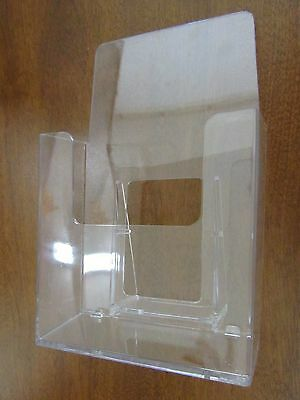 "Acrylic Literature Brochure Holder Stand for 4-1/4"" x 7"" - 13-pack"