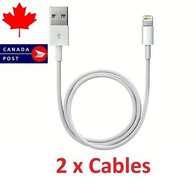 2 Pack of iPhone Cable Charger Data Sync - iPhone 8 Plus iPad Mini iPad Air iPod