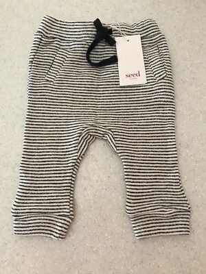 Seed Heritage Baby Pants Size 6-12 Months RRP$29.95