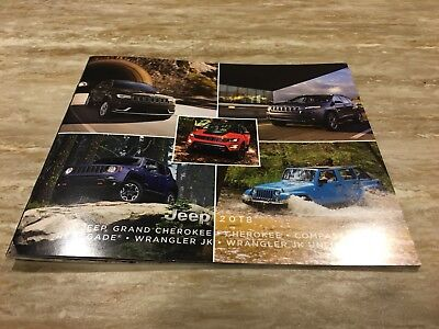 2018 JEEP FULL-LINE 20-page Small Original Sales Brochure