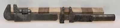 """Vintage Pair of  5½"""" Adjustable Bicycle Wrenches (INV E451)"""
