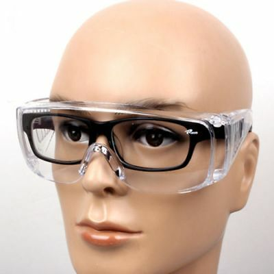 Eye Protection Lab Outdoor Work Eyewear Clear Protective Safety Goggles Glasses