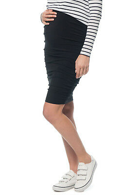 NEW - Bae - Count Your Blessings Maternity Pregnancy Skirt in Black