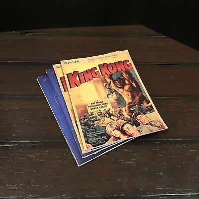 Lot Of 5 Skinner Auction Catalogs (Marilyn Lonroe, James Cagney, King Kong)