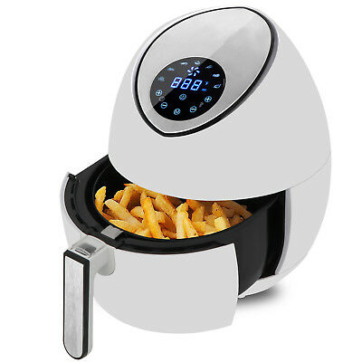 Electric Air Fryer Healthy Oil Free Cooking, Touch Screen Temperature Control