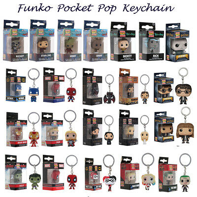 Funko Pop Keychain Game of Thrones Harry Potter Suicide Squad Figures Xmas Gift