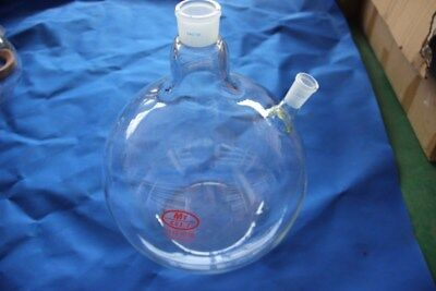 20000ml(20L) 2-neck flat bottom flask,Central joint 40/38,side Joint 24/40,