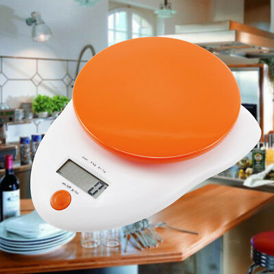 5kg Electronic Kitchen Scale LCD Weighing Food Cooking Measuring Auto Digital