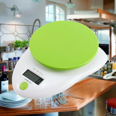 NEW Digital LCD Electronic Kitchen Cooking Food Weighing Scales Up to 5kg UK