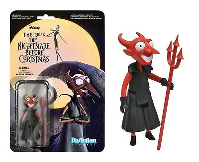 "*NEW* Nightmare Before Christmas The Devil 3.75"" Tall ReAction Figure"