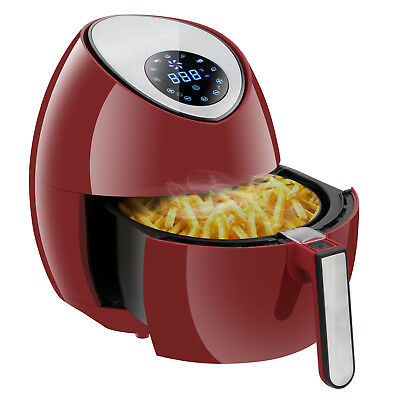 Rapid Air Fryer Electric Low-Fat Hot Steam Cooker Large Capacity w/ LCD Display