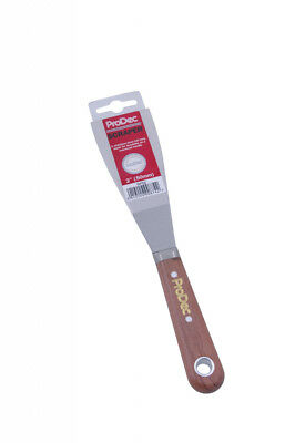 ProDec Flexible filling Knife Stainless steel   rosewood handle 2,3 & 4 inch