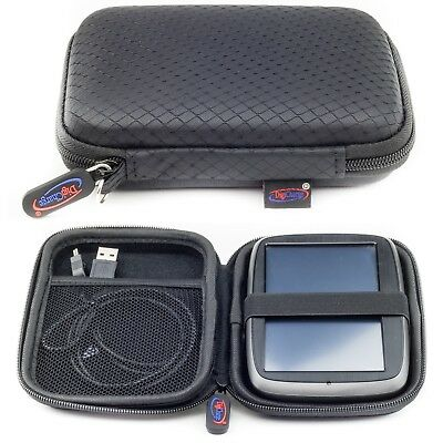 Hard Wallet For TomTom Sat Nav Case Start Go 5200 520 52 25 Via 53 5' Digicharge
