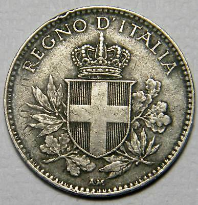 Italy 1919 20 cent  ADDITIONAL COINS SHIP FREE ON SAME INVOICE