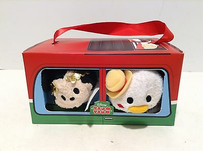 US Disney Rome Italy Mickey Mouse and Donald Duck Mini Tsum Tsum Set of 2 NIB!
