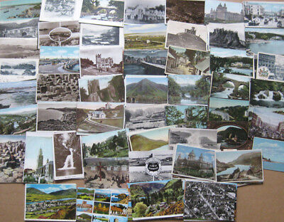 IRELAND Job Lot of 260+ Old Postcards 1900-60s, Mostly Pre 1930s