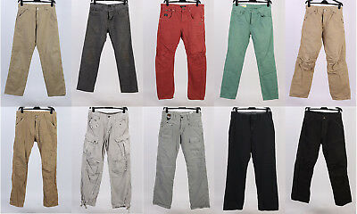 JOB LOT VINTAGE BRANDED TROUSERS GSTAR JJ BOSS WHOLESALE X10 GRADE A-Lot70