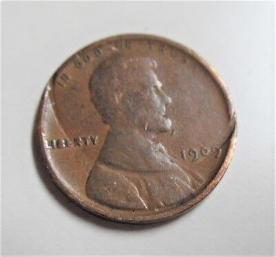1909 VDB Lincoln Cent.  Multiple errors coin.  See Pics self grade and research