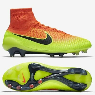 Nike Magista Obra FG Mens Football Boots Crimson RRP £230 ~ SIZES 6 & 6.5 ~ SALE