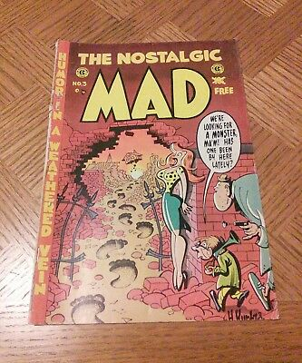 Vintage The Nostalgic MAD Comic NO. 3 Issue