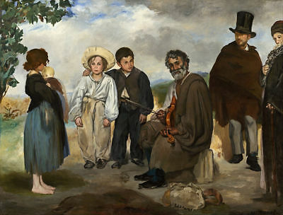 Vintage Manet Painting - Collector Art - Fast Free Image Delivery Option