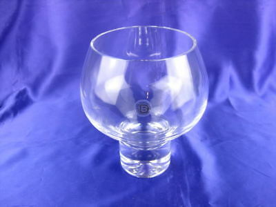 "Dartington Glass Vase Approx 6"" 15Cm High Perfect"