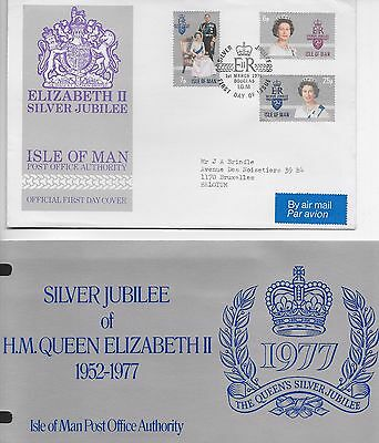 Silverjubilee Queen Elizaberth Ii  Fdc 1977 And Presentaion Pack