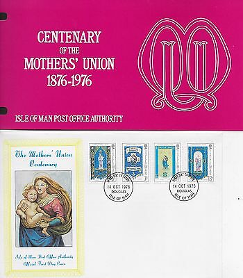 Centenary Of Mother's Union  Fdc 1976 And Presentaion Pack