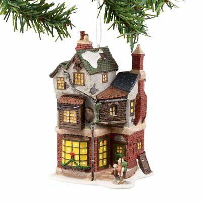 Dickens A Christmas Carol Village from Department 56 Cratchit's Corner Mini