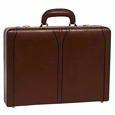 McKlein USA Lawson Leather Attache Case 80454
