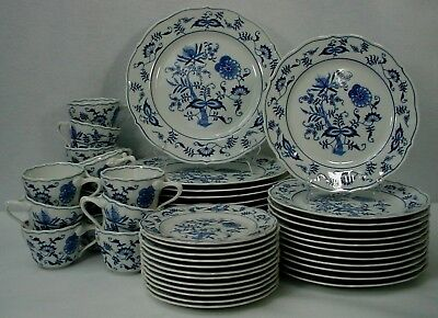 BLUE DANUBE china 60-piece SET SERIVCE for 12 - place settings